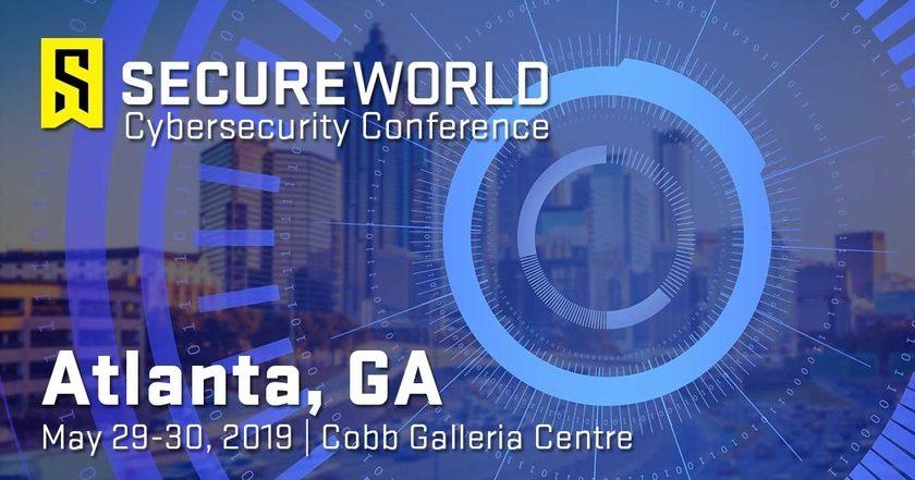 Speaking at SecureWorld Atlanta